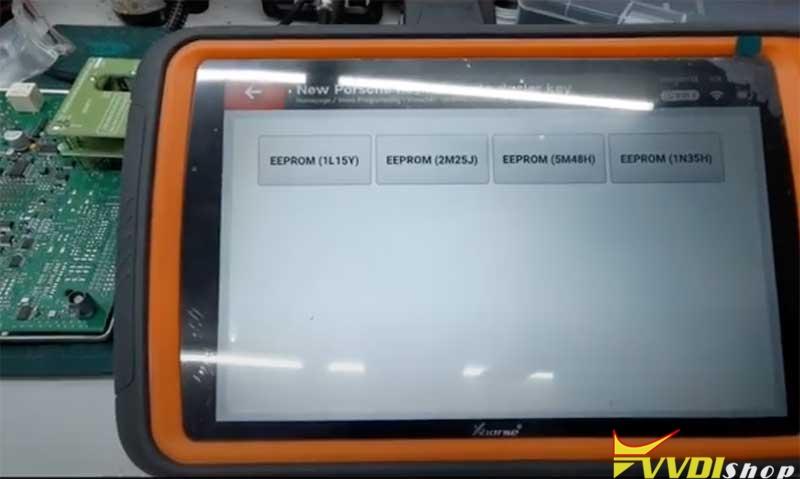 Xhorse Vvdi Key Tool Plus Porsche 718 Add Key 7