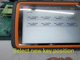 Xhorse Vvdi Key Tool Plus Porsche 718 Add Key 8
