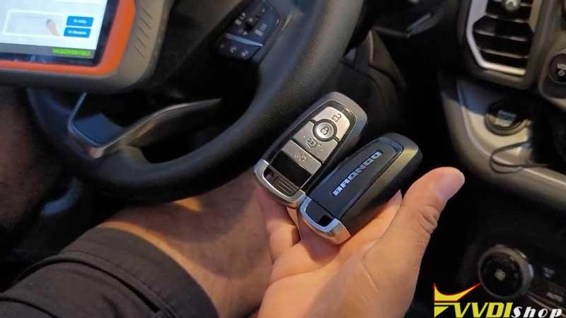 Xhorse Vvdi Key Tool Plus Program 2021 Ford Bronco Sport Akl Success (1)