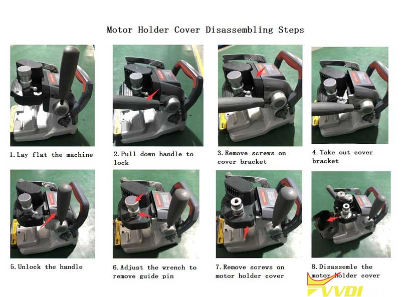 Disassemble Xhorse Dolphin Xp007 Cover To Check Battery (3)