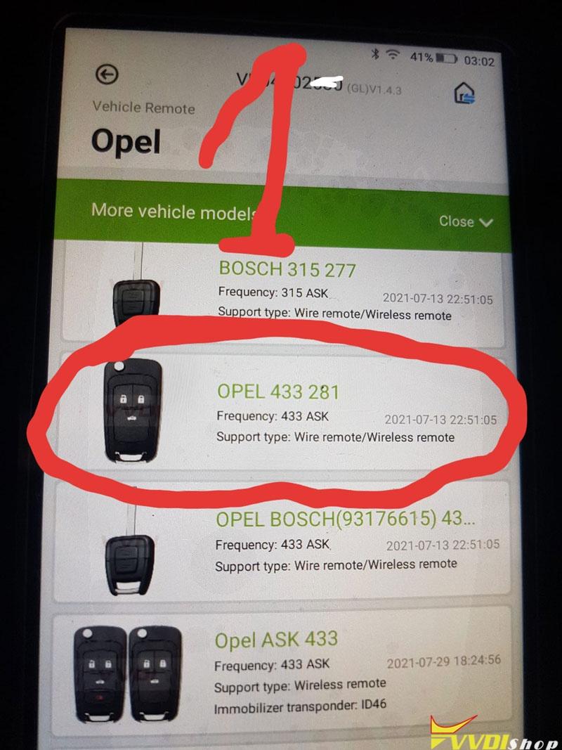 Opel Insignia Xhorse Super Remote 2